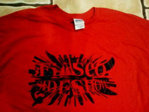 FiascoSideshowTShirt Red