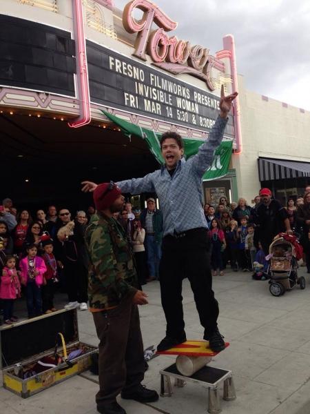 Fresno Parade street show
