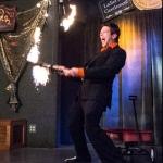 Torch juggling at Rogue 2015